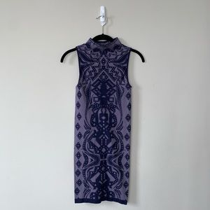 Free People Bodycon Dress (purple)